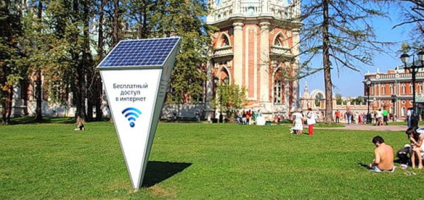 Moscow Wi-Fi Network Enters World Top 3 by Size